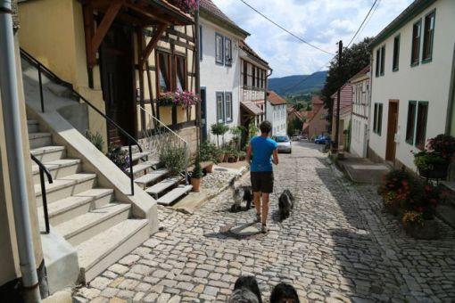 Alle de små byer i nærheden var utrolige smukke med gamle bindingsværkshuse